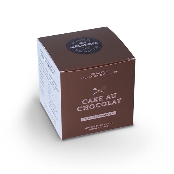 Préparation du Moulin d'Echallens - Cake au chocolat