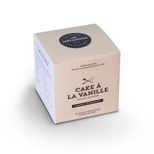 Préparation du Moulin d'Echallens - Cake à la vanille